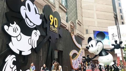 【銅鑼灣好去處】米奇90周年展覽!6米高魔法師米奇+90件迪士尼珍藏品