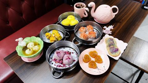 【中環美食】下午茶/晚市特色點心放題 任食櫻花蝦餃/小籠包/鰻魚飯/串燒小食