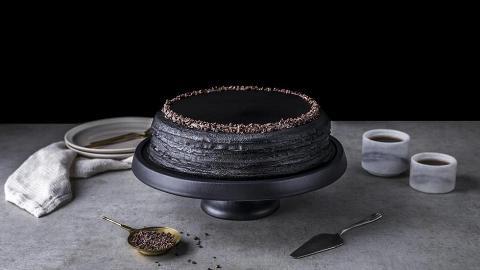 Lady M新口味蛋糕香港/澳門登場 首推竹炭咖啡千層蛋糕