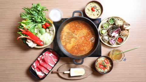 牛陣 DIY冬蔭美鍋放題 牛肉.海鮮雙重滋味