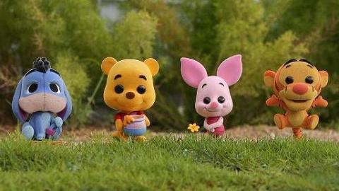 Hot Toys小熊維尼COSBABY系列登場!絨毛大眼公仔11月香港有售