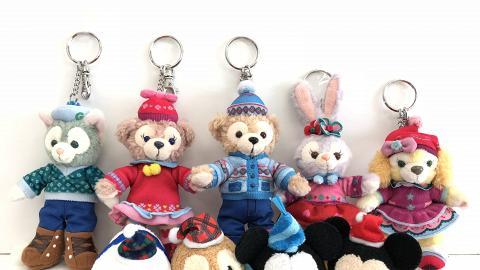 【聖誕節2018】香港迪士尼樂園聖誕限定精品! Duffy/TsumTsum特別版造型登場