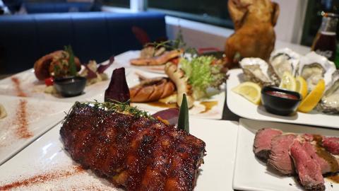 【觀塘美食】樓上西餐廳$238半自助餐放題 自選主菜+任食肉眼扒/烤羊腿/沙律