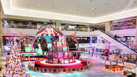 【聖誕節2018】屯門市廣場光影聖誕嘉年華 6米高聖誕樹/光影騷/雜技表演