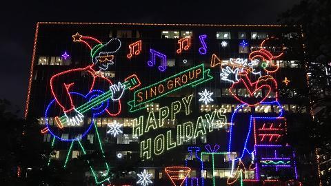 【聖誕節2018】尖沙咀聖誕燈飾亮燈 巨型LED燈牆/空中花海