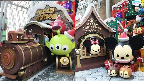 【聖誕節2018】Tsum Tsum聖誕市集登陸旺角朗豪坊 迪士尼列車/4.5米高聖誕樹