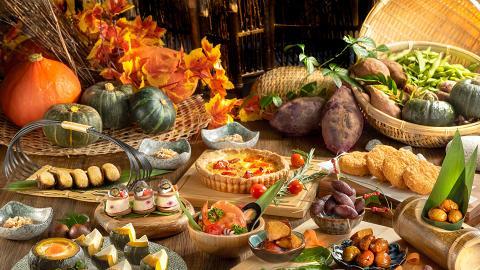 【沙田美食】萬怡酒店秋冬下午茶自助餐 任食南瓜/栗子/番薯/紫薯甜品+鹹食