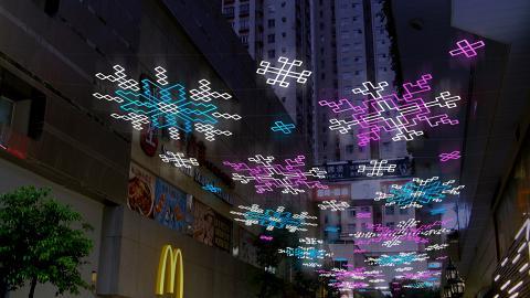 【聖誕節2018】九龍灣淘大商場聖誕天幕燈飾 光影聖誕市集/嘉年華/4米高聖誕樹