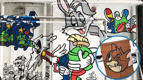 【聖誕節2018】銅鑼灣3米高賓尼兔街頭壁畫!華納兄弟期間限定店/展覽