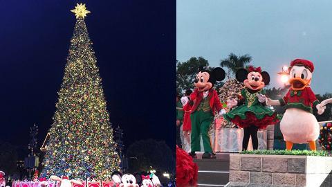 【聖誕節2018】迪士尼飄雪冬日巿集+聖誕新裝!18米高聖誕樹/米奇聖誕舞會