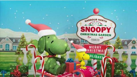 【聖誕節2018】Snoopy聖誕花園登陸北角!見面會/全港獨家甜品放題