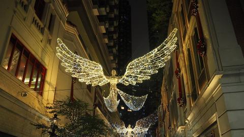 【聖誕節2018】英國倫敦聖誕燈飾登陸灣仔 夢幻飄雪+聖誕樹亮燈!