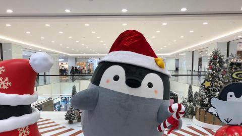 【聖誕節2018】日本超人氣小企鵝聖誕登陸尖沙咀LCX!4大影相位/聖誕限定店