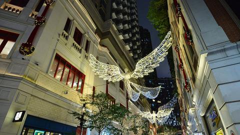 倫敦著名燈飾登陸灣仔利東街 感受100%英倫聖誕