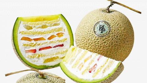 【灣仔美食】水果撻專門店周年限定新品 原個靜岡蜜瓜蛋糕