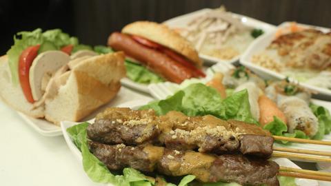 【長沙灣美食】越南餐廳推$68下午茶放題 任食沙嗲串燒/扎肉潛艇包/生牛肉河