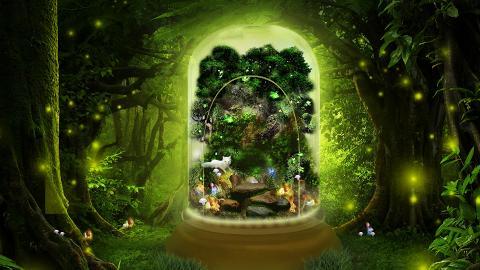 【聖誕節2018】荔枝角D2 Place聖誕飄雪精靈小木屋!螢火蟲森林/巨型玻璃瓶