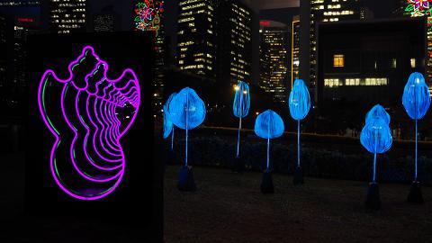 【中環好去處】香港戶外燈影展登場!光影鋼琴/霓虹招牌隧道/泡泡光球