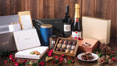 【聖誕禮物2018】agnès b. CAFÉ推聖誕精品美食 聖誕朱古力/保鮮玫瑰花玻璃盒