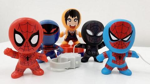 麥當勞聯乘蜘蛛俠 開心樂園餐免費換一套8款蜘蛛俠玩具精品