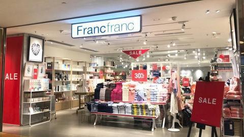 Francfranc冬日減價優惠 精選家品低至半價!