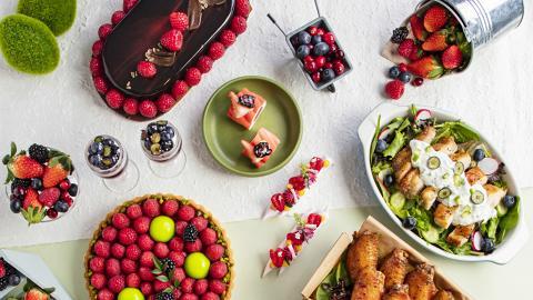 【旺角美食】酒店新推莓果主題下午茶自助餐 任食士多啤梨塔/莓果甜品/鹹點