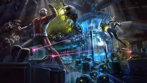 【迪士尼樂園】3月全球首個蟻俠/黃蜂女新設施!迪士尼Marvel主題區率先睇