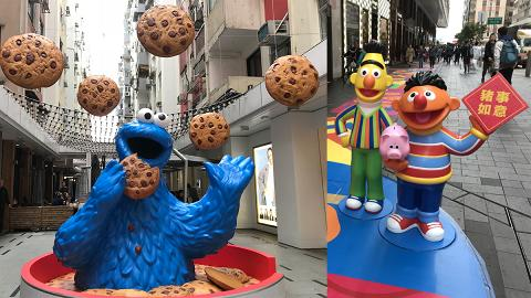 【新年好去處2019】芝麻街50周年登陸銅鑼灣 巨型Elmo/新春巡遊/影相位