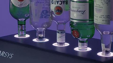 30秒調酒機登場派對良物!過2000酒款/自動清洗功能