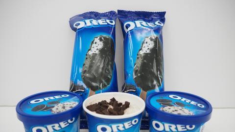 OREO控注意! 便利店新推出OREO雪糕杯/脆皮雪糕批