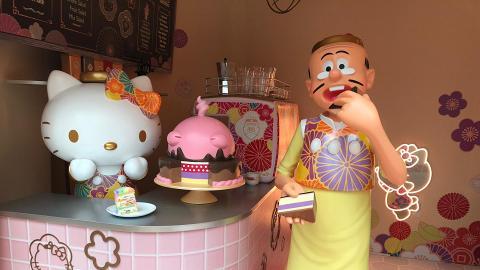 【新年好去處2019】Hello Kitty聯乘老夫子新春小鎮登陸馬鞍山!6大復古影相位
