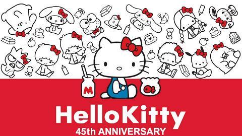 Uniqlo聯乘Hello Kitty 45週年系列!Sanrio人氣角色齊登場/女裝童裝UT率先睇