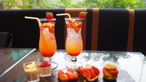 【沙田美食】沙田酒店士多啤梨甜品下午茶 任食草莓三文治/雪燕批/Mövenpick