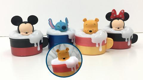 迪士尼USB小夜燈收納盒咖啡杯!小熊維尼/米奇/米妮/史迪仔瞓覺造型登場