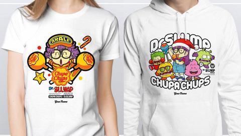 自助T-shirt售賣機加推9款期間限定衛衣/tee!5分鐘自製IQ博士/小雲/小吉服飾