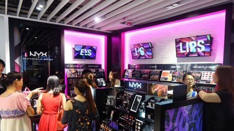 NYX限量彩妝產品優惠 指定產品8折/買3送1