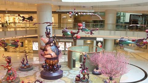 走入6米高豬雕塑魔幻繪本 即場自製賀年GIF