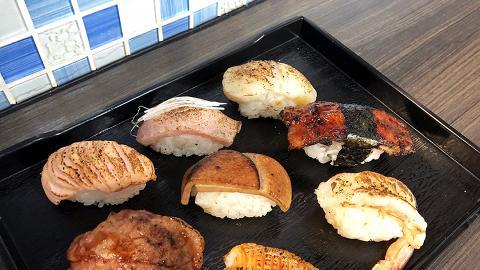 【深水埗美食】深水埗新開街坊手握壽司店 即叫即做$6起火炙三文魚/鰻魚壽司