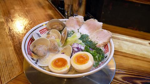 【尖沙咀美食】日本過江龍人氣拉麵店登港 限定$10雞白湯拉麵/明太子豚肉撈麵