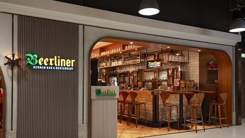 Beerliner German Bar & Restaurant 午市優惠 3人同行1人免費!