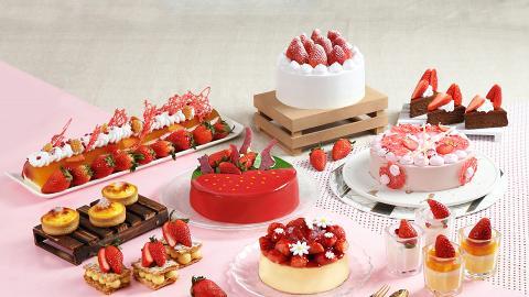 【沙田酒店】酒店推士多啤梨芝士下午茶自助餐 任食草莓蛋糕/芝士撻/Mövenpick