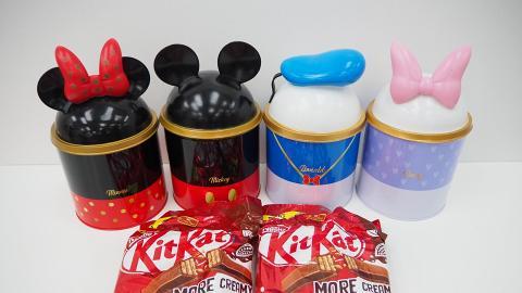 【便利店新品】7-Eleven推出KitKat聯乘迪士尼新品!4款迪士尼儲物筒+朱古力