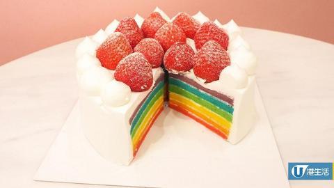 【銅鑼灣美食】韓國甜品店LE BREAD LAB進駐銅鑼灣 人氣彩虹草莓蛋糕/熔岩蛋糕
