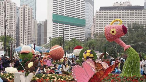 【維園花卉展2019】香港花卉展開鑼!$14入場任影42萬棵花朵