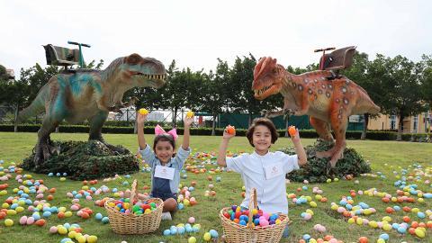 【復活節好去處2019】5萬呎恐龍樂園登陸屯門 2米高恐龍/過1萬隻彩蛋/充氣滑梯