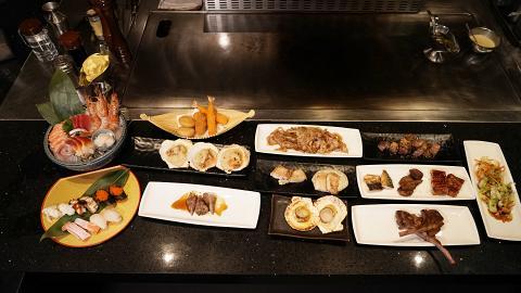 【尖沙咀美食】尖沙咀新開日式鐵板燒放題 任飲任食鐵板燒/爐端燒/刺身壽司