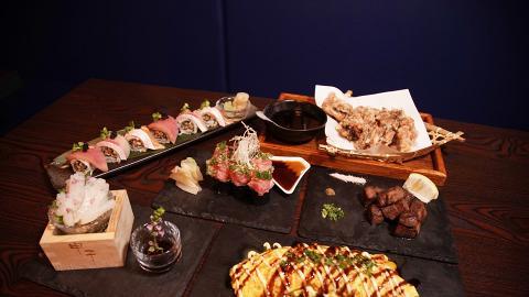 【旺角美食】旺角新開誠意日式居酒屋 芝士千層豚肉卷/日本水母刺身/申子飯
