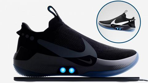 NIKE首對智能自動綁鞋帶籃球鞋!率先試穿體驗 撳掣即自動綁鞋帶+調節鬆緊度