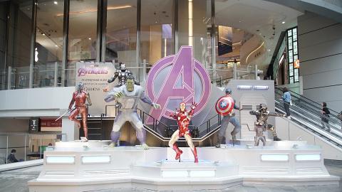【復仇者聯盟4】4.5米高Iron Man空降銅鑼灣!7大超級英雄1:1雕像/期間限定店