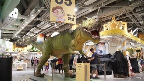 【荃灣好去處】荃灣恐龍體驗館免費入場!1:2恐龍逼真呈現/恐龍食物